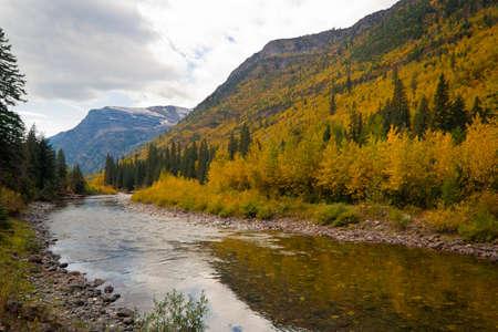 glacier national park: Glacier National Park: McDonald Creek