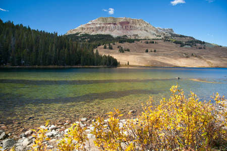 Beartooth Lake, Montana, USA photo