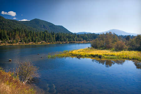 Lakeland with meadow in Montana photo