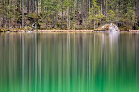berchtesgaden: Hintersee, Berchtesgaden, Germany Stock Photo