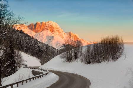 berchtesgaden: Sunrise in Germany Alps, Berchtesgaden, Bavaria, Germany Stock Photo