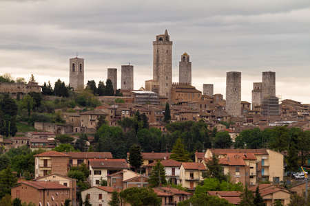 highriser: Towers of San Gimignano, Tuscany, Italy