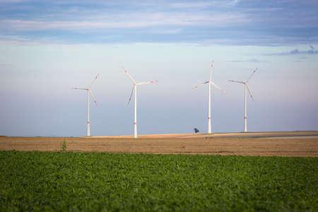Wind generators in Rhine-Hesse, Germany photo