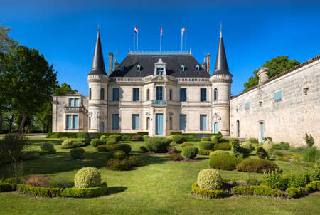 Garden of Chateau Palmer, Bordeaux, France Editorial
