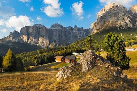 sella: Sella group at Passo Pordoi, Dolomites, Italy