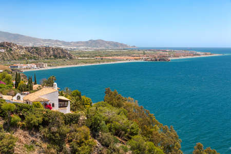 andalusia: Mediterranean Sea in Andalusia, Spain Stock Photo