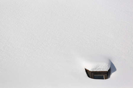 snowbound: Snowbound roof top of church in Bavaria, Germany