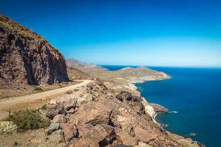 Landscape at Cabo del Gata, Almeria, Spain