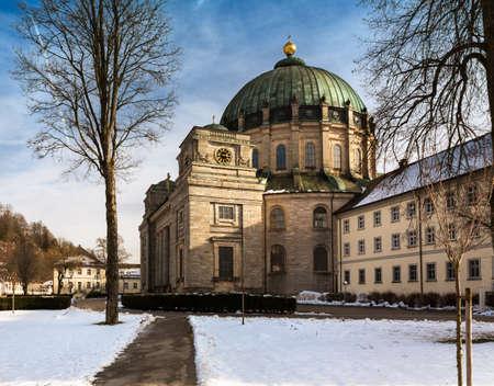 baden wurttemberg: St. Blaise Abbey (Kloster St. Blasien), Black Forest, Germany