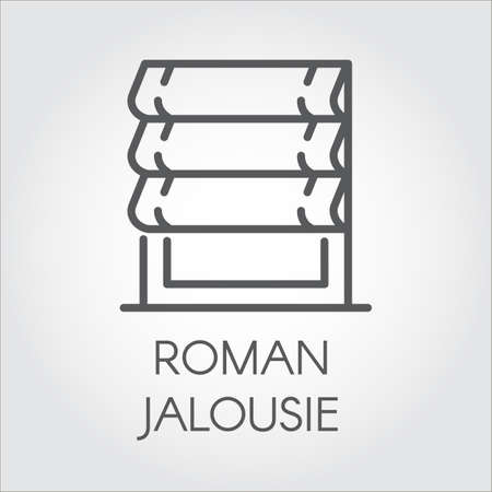 Logo Of Roman Jalousie Label For Home And Office Interior Design Stunning Home Interior Design Catalogs Concept