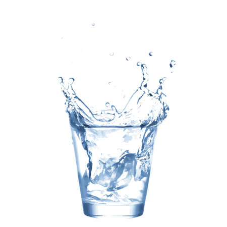 glass water: water glass