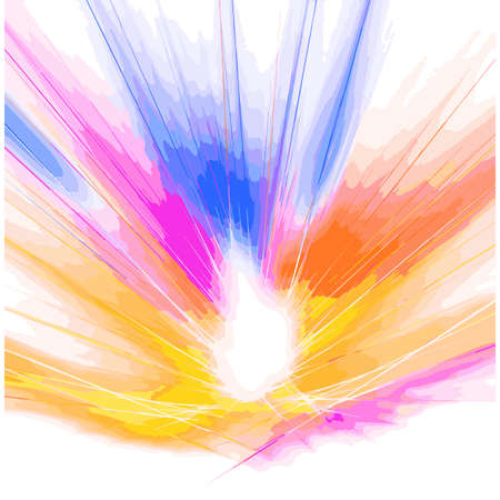 ray of lights: VECTOR Abstract Colorful Rainbow Explosion of ray lights.