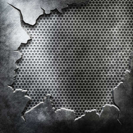 Crack Metal Background Reklamní fotografie
