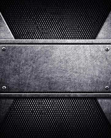 steel plate: Metal Plates. Stock Photo