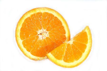 Sliced Navel Oranges