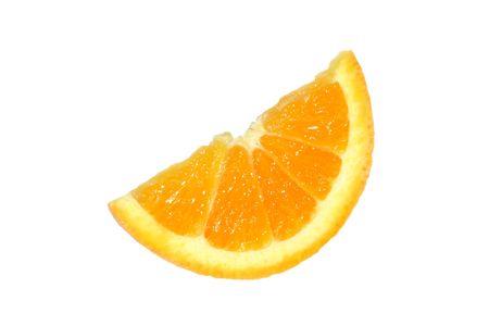 Sliced Navel Orange Stock Photo
