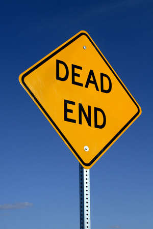 Dead End sign. Stock Photo