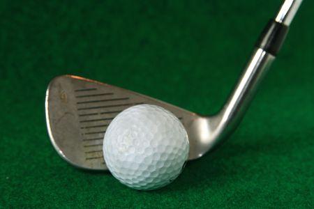 Golf Ball and Iron Stock Photo - 2910249