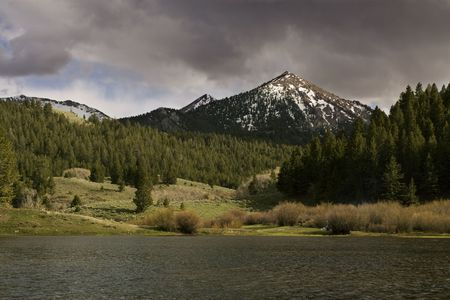 Pass Creek Lake in Idaho