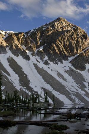 Lemhi Mountains in Idaho