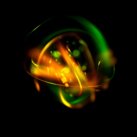Abstract ring background. Glowing spiral. The energy flow tunnel. shine round frame with light circles light effect.  glowing cover. Space for message. Light sphere. Atom power.