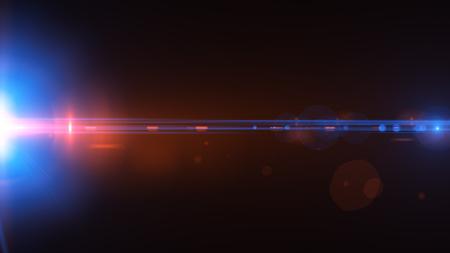美しい光のフレア。暗い背景に輝く縞。背景が並ぶ明るい抽象的なスパーク リングします。光の効果の壁紙。Sci fi 技術。 写真素材 - 80702975