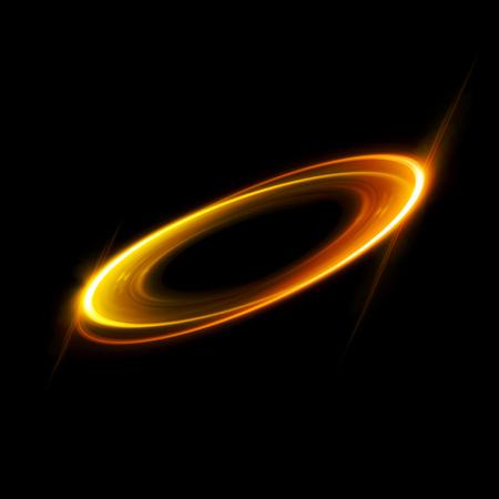 ellipse: Fondo abstracto. Remolino luminoso. Elegante círculo brillante. Espiral brillante. Cinta de resplandor. Espacio vacio. Partícula chispeante. Túnel espacial. Órbita brillante. Elipse de colores. Glint galaxia Etapa oval