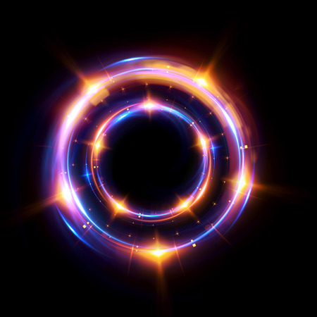 ellipse: Abstract background. luminous swirling. Elegant glowing circle.  Sparking particle. Space tunnel. Glossy jellyfish. Colorful ellipse. Glint sphere