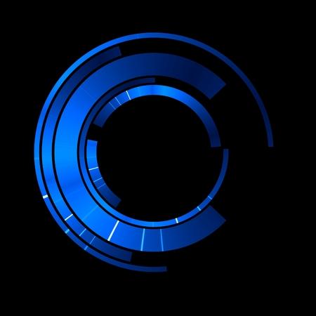Sfondo astratto vorticoso luminoso. Elegante cerchio luminoso. Particella scintillante. Tunnel spaziale Medusa lucida. Ellisse colorato. Sfera di glint Archivio Fotografico - 81451632