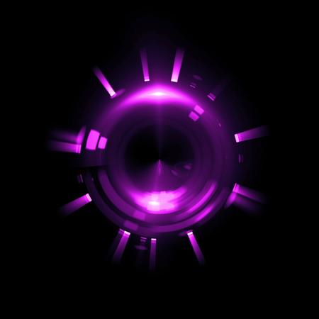 ellipse: Fondo abstracto. Remolino luminoso. Elegante círculo brillante. Partícula chispeante. Túnel espacial. Medusas brillantes. Elipse de colores. Glint esfera