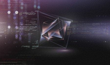 buisiness: Abstract tech background. Floating Numbers HUD Background. Matrix particles grid virtual reality. Smart build. Grid core. Hardware quantum form. Future technology
