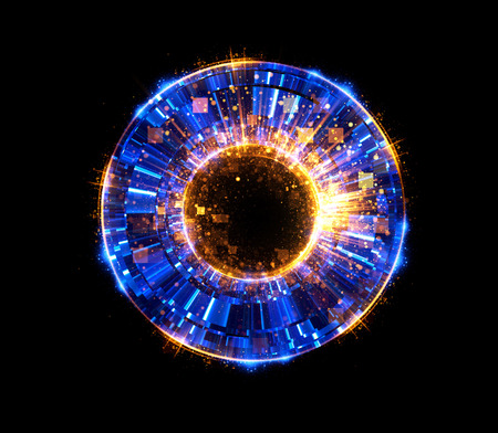 ellipse: Abstract background. luminous swirling. Elegant glowing circle. Big data cloud. Light ring. Sparking particle. Space tunnel. Colorful ellipse. Glint sphere. Bright border. Magic portal. Energy ball.