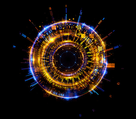 astral: Abstract background. luminous swirling. Elegant glowing circle. Big data cloud. Light ring. Sparking particle. Space tunnel. Colorful ellipse. Glint sphere. Bright border. Magic portal. Energy ball.