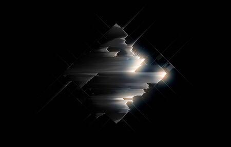Abstract dark background. Stock Photo