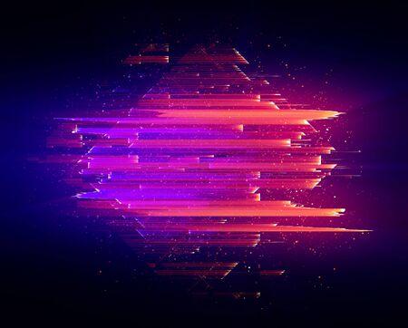 Led Light effect.