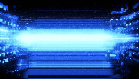 Digital signal abstract background 写真素材