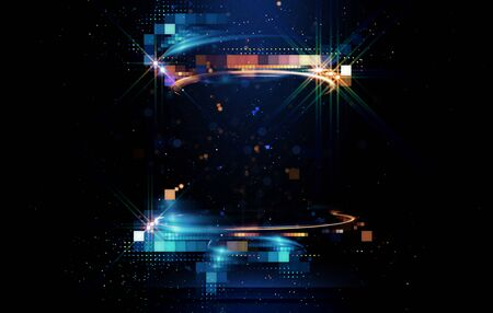 Light arena abstract background Imagens