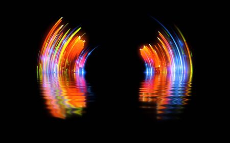 Vivid abstract background.