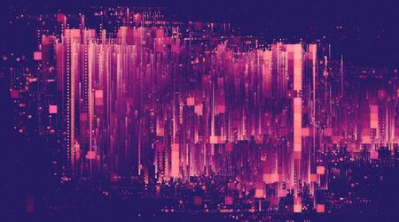 Light glitch effect abstract background