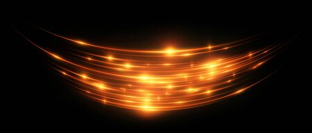 Neon wind lines abstract background