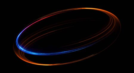Elegant glowing circle abstract background