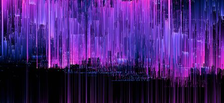 Quantum computer system abstract background