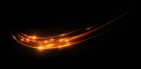 Shining neon cosmic streaks abstract background Imagens