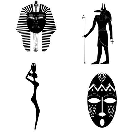 ankh: African silhouettes