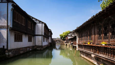 west gate: Tongxiang County, Jiaxing City, Wuzhen West Gate Scenic Area