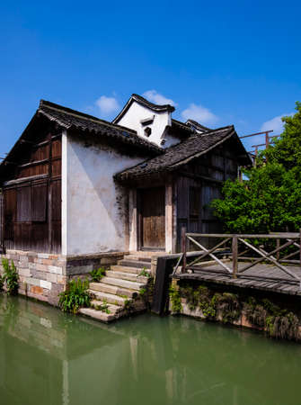 west gate: Tongxiang County, Jiaxing City, Zhejiang province Chinese, Wuzhen West Gate Scenic Area