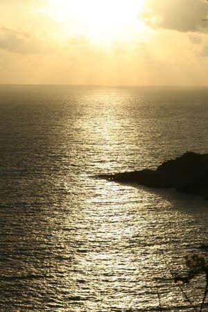 eventide: Sunset , Phuket , Thailand Stock Photo