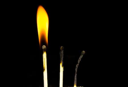 dangerous ideas: burnt matches