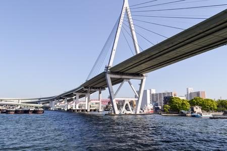 bay bridge: Osaka Bay Bridge