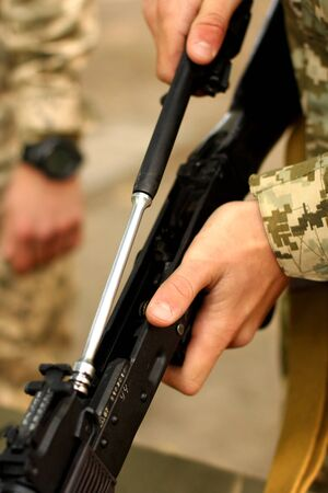 the silencer: kalashnikov machine gun